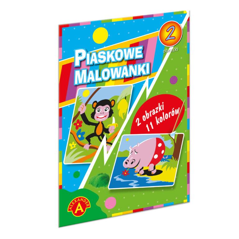 1398 Piaskowe Malowanki - Hipopotam i Małpa