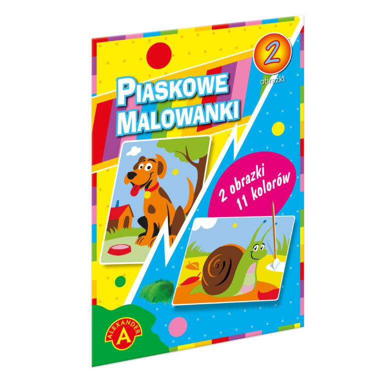 1400 Piaskowe Malowanki - Pies i Ślimak
