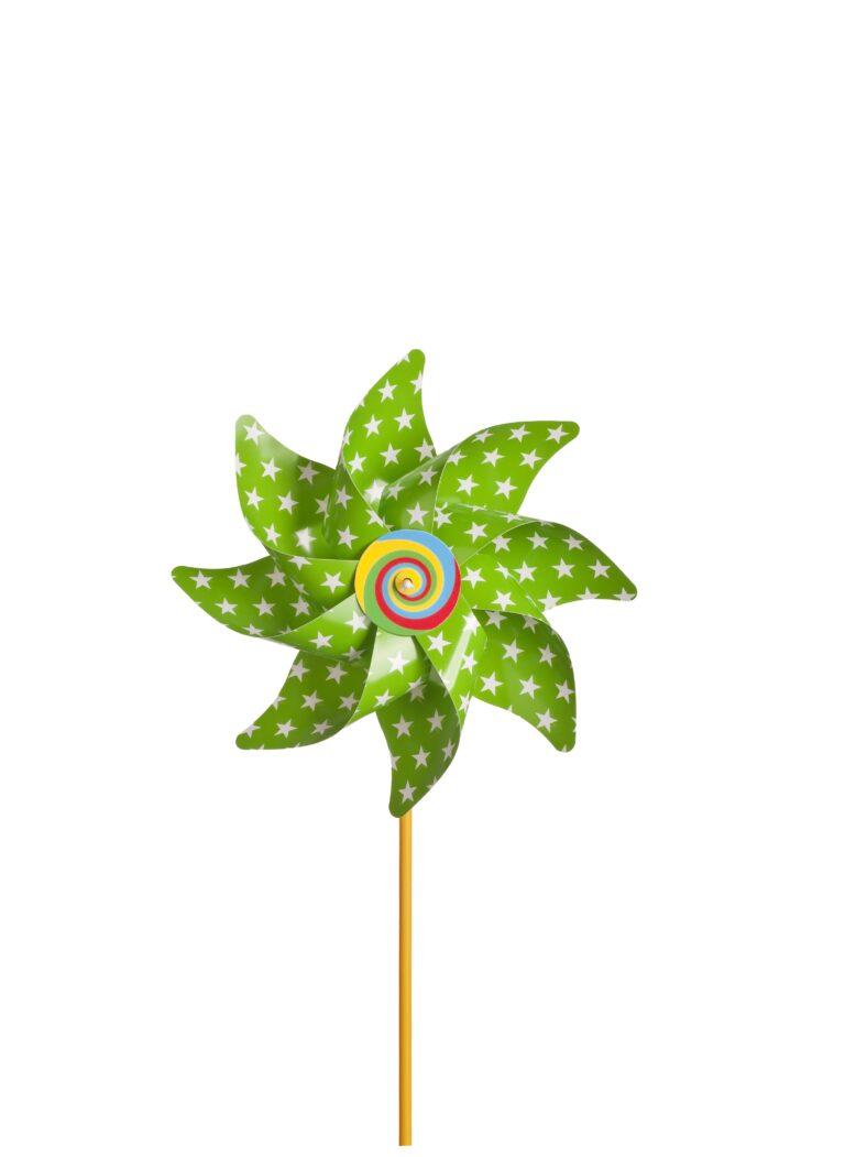wiatrak 3 zielony