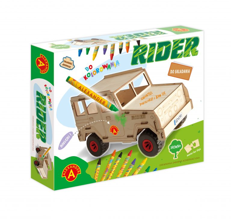 2456 Składaki Drewniaki - Rider