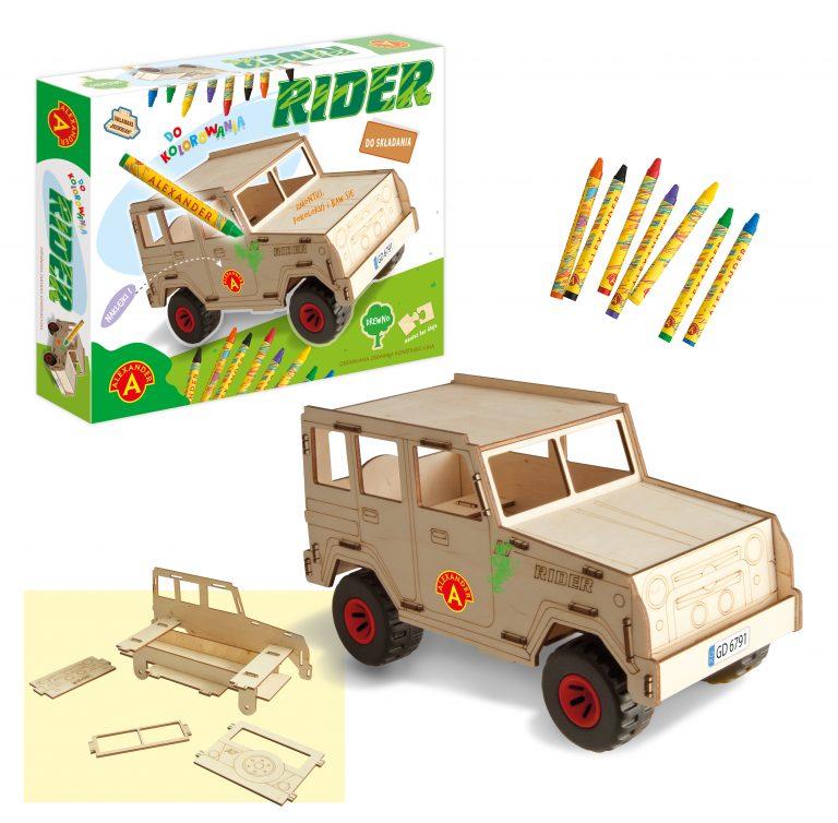 2456 Składaki Drewniaki - Rider + rekw