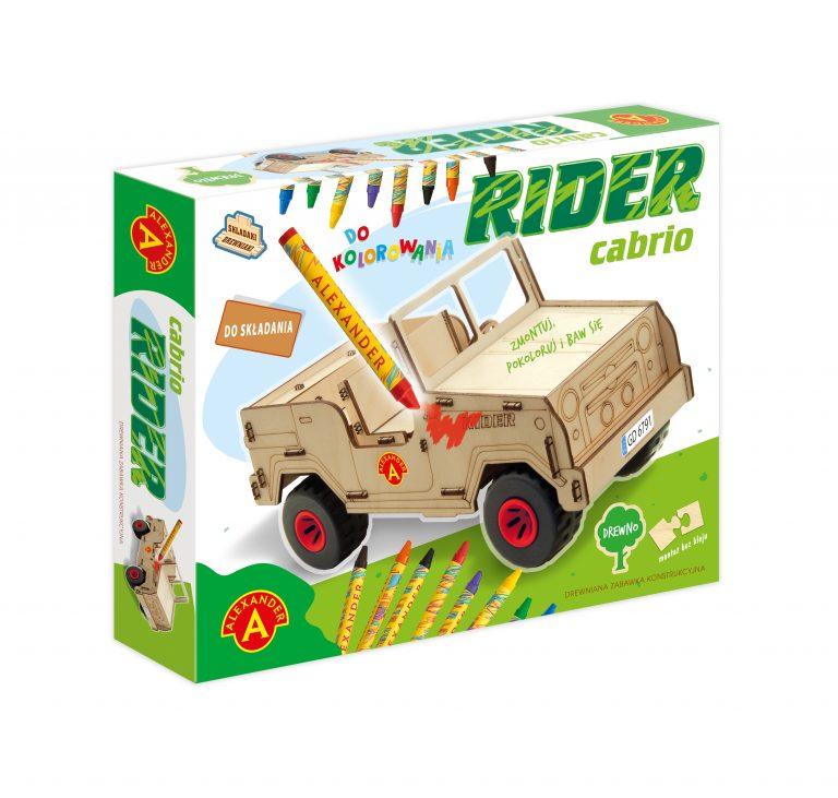 2457 Składaki Drewniaki - Rider Cabrio