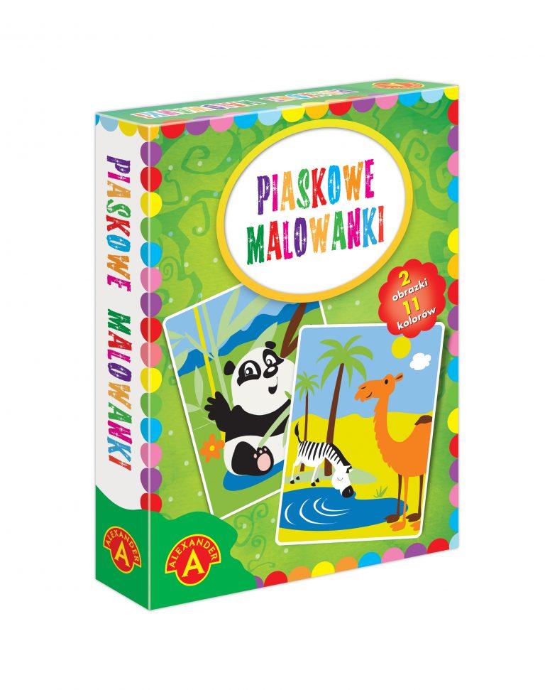 2464 Piaskowe Malowanki Panda Wielblad