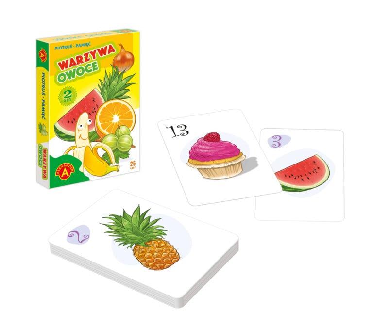 2612 Piotruś Warzywa i Owoce + Rekwizyty