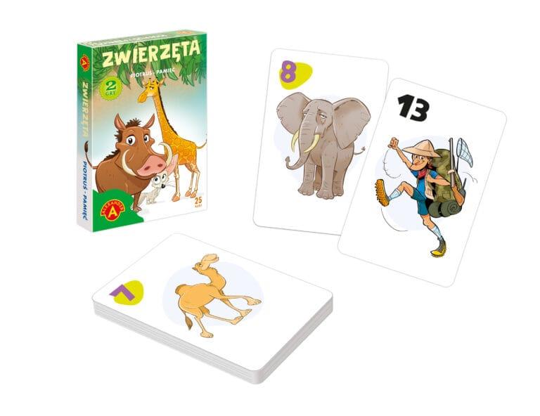 2614 Piotruś Zwierzęta + Rekwizyty
