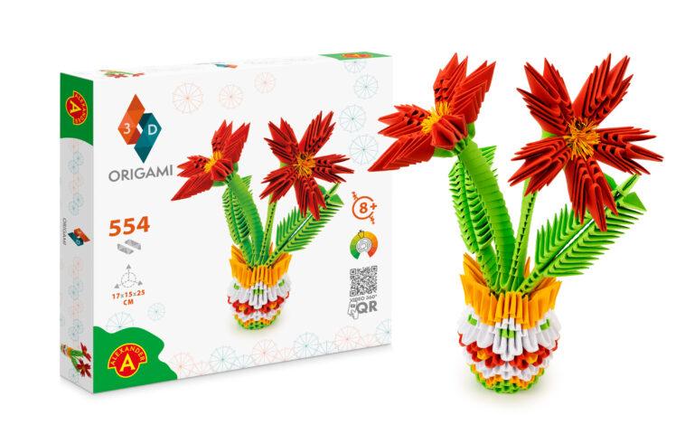 ORIGAMI_2553_kwiaty pudelko + model