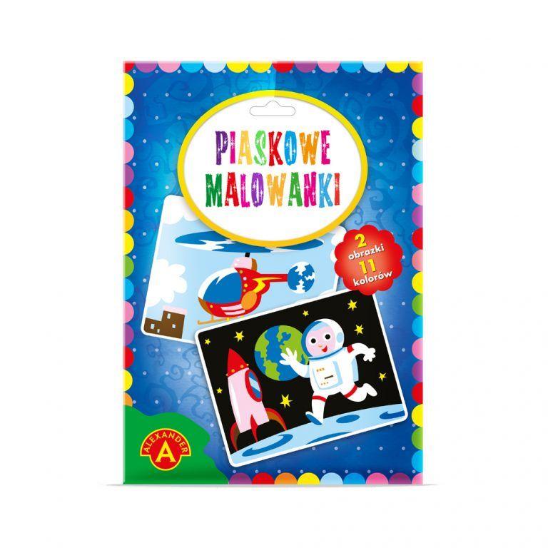 2091 Piaskowe Malowanki - Astronauta