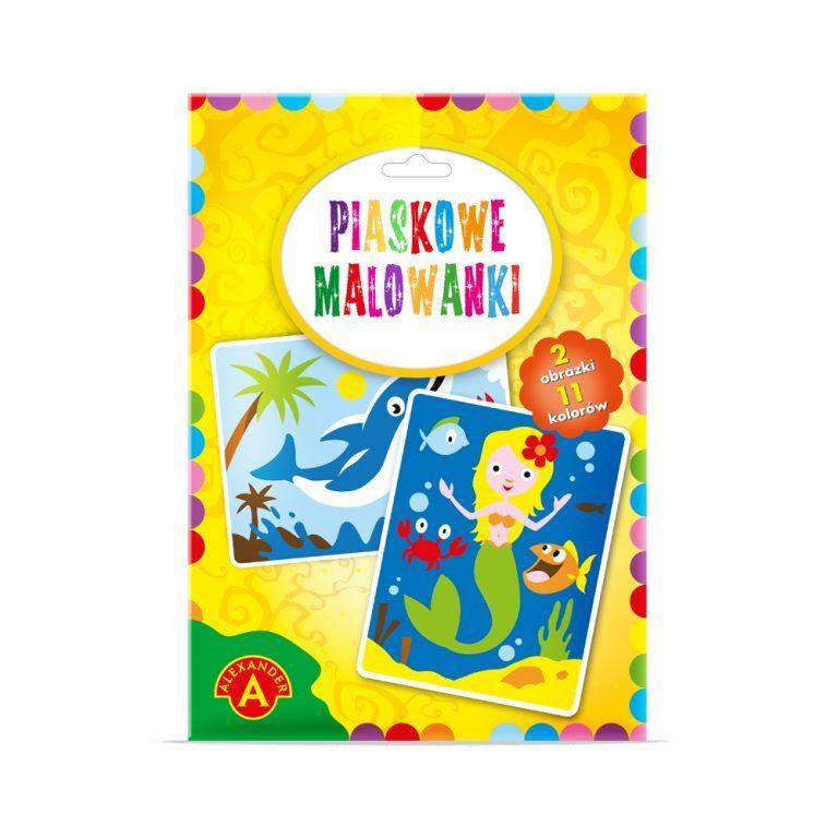 2092 Piaskowe Malowanki - Delfin, Syrenka