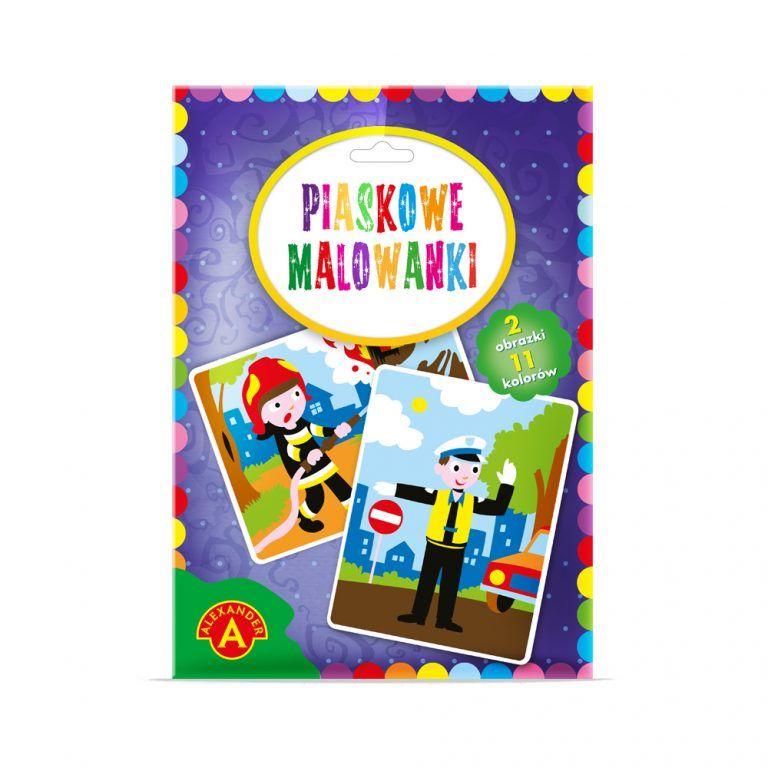 2093 Piaskowe Malowanki - Pilicjant, Strażak