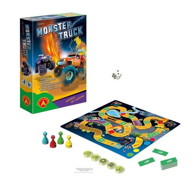 2098 Monster Truck Mini + rekwizyty