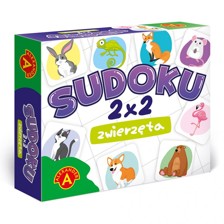 2285 Sudoku 2x2 Zwierzeta - pud (003)