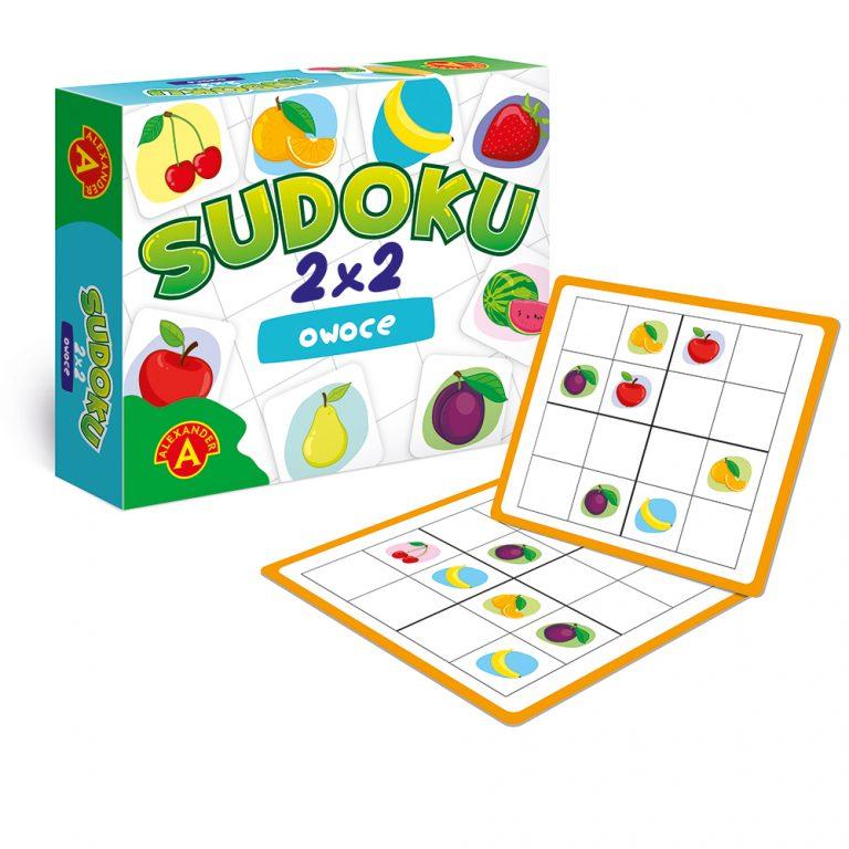 2286 Sudoku 2x2 Owoce - rekw