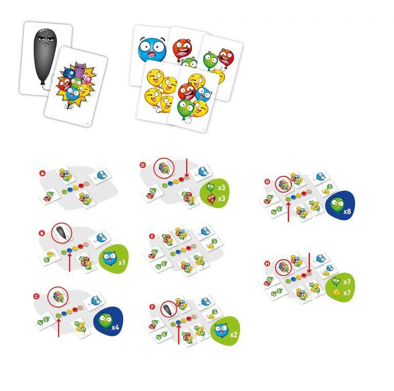 Szalone Balony - elementy do reklamy - karty